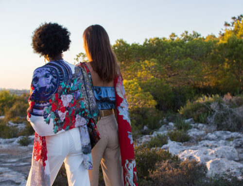 Saz Mifsud's new collection, Lion Girl, has been launched online