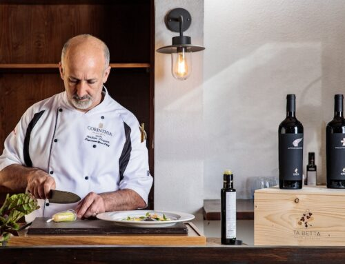Perfectly Paired –  An Evening of Corinthia Palace Gastronomy and Ta' Betta Wine