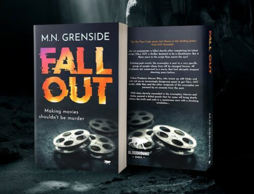 Locally-based Author Set to Relaunch Critically Acclaimed Thriller with New Publisher
