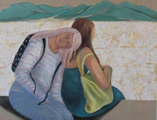 Sister artists exhibit at the Malta Society of Arts